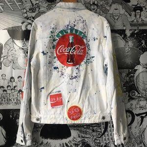 Staple Jackets & Coats - Staple Pigeon Coca Cola Denim Jacket